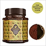Octavius Gold Instant Coffee, Pure Granulated Coffee, made from the finest beans handpicked