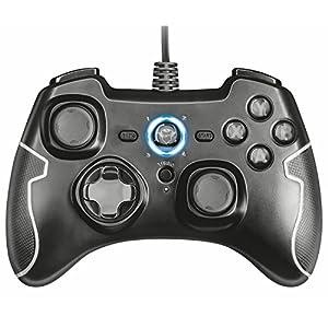 Trust GXT 560 Nomad Kabelgebundenes Gamepad (für PS3 und PC) schwarz