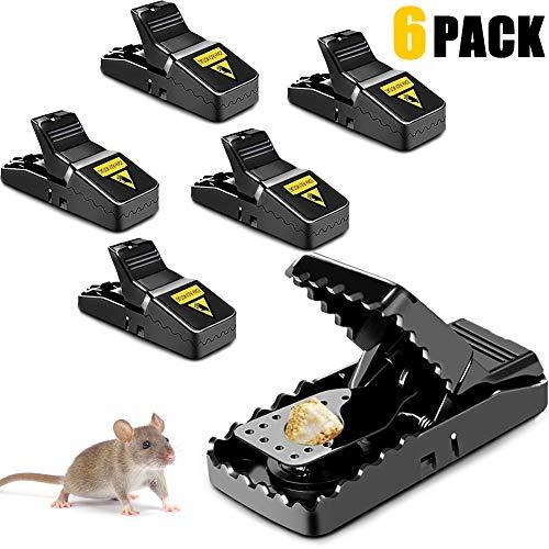 Schlagfalle Profi Rattenfalle Effektive M/äusem/örder Schnappfalle Nagetierbek/ämpfung Mausf/änger Einfach Wiederverwendbare M/äusem/örder Nasharia 10 Pack M/äusefalle
