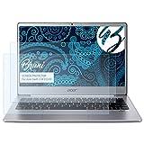 Bruni Schutzfolie für Acer Swift 3 SF313-51 Folie, glasklare Displayschutzfolie (2X)