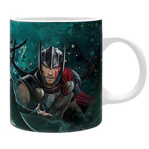 Marvel Comics - Thor Ragnarok - Keramik Tasse - Hulk & Thor Vs Hela - Geschenkbox (Avengers Thor Vs. Iron Man)