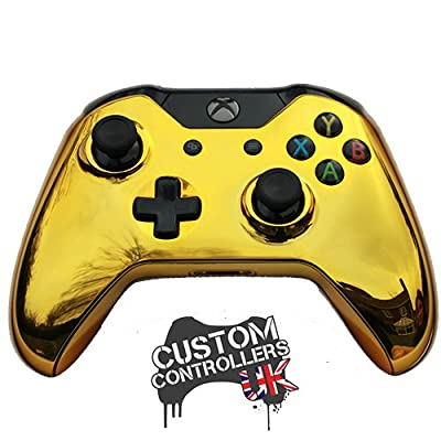 Xbox One Custom Controller - Chrome Gold Edition
