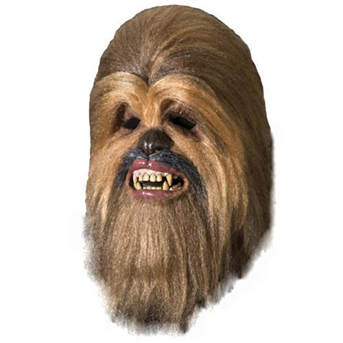 Edition Chewbacca Kostüm - PARTY DISCOUNT ® Maske Supreme Edition