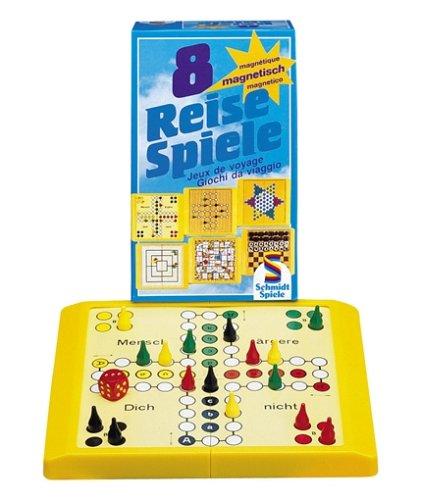 Schmidt Spiele - 8 Reise-Spiele, magnetisch