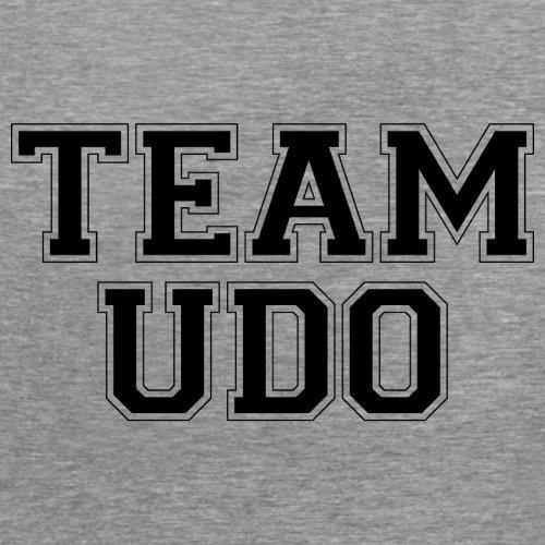 Team Udo - Damen T-Shirt - 14 Farben Sportlich Grau