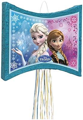 Disney Frozen piñata, Pull Cadena de Unique Party