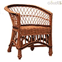 GalaDis 12-12 Korbsessel aus Weide geflochten/Sessel / Stuhl für Kinder/Puppenstuhl preisvergleich bei kinderzimmerdekopreise.eu