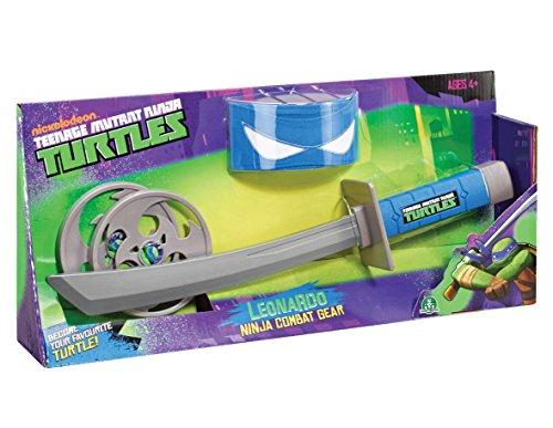 TMNT Tortues Ninja - 5520 - Figurine - Accessoires de Combats - Leo