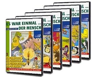 Es war einmal … der Mensch - Teil 1-6 (6 DVDs): Amazon.de