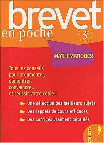 Brevet en poche : Maths 3ème
