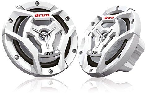 JVC CS-DR6201MW Spritzwassergeschützter 2-Wege-Koaxial-Lautsprecher 16 cm weiß