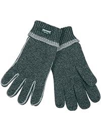 Handschuh Comfort Thinsulate Fingerhandschuhe gefütterte Handschuhe Winterhandschuhe grau-grau S/M