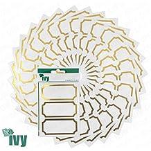 225 x Klebeetiketten für Marmeladengläser / Chutneygläser, selbstgemachte Konserven / Marmelade, 34 x 75 mm