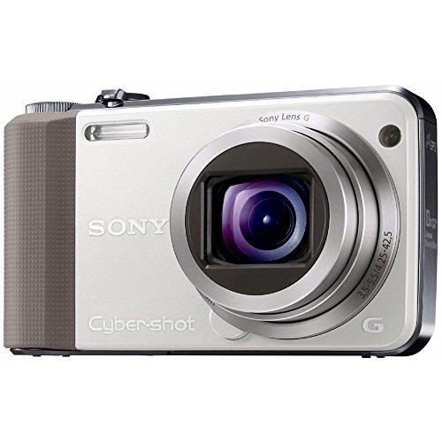 Sony DSC-HX7VW Digitalkamera (16 Megapixel, 10-fach opt. Zoom, Full HD Videoaufnahme, GPS, 7,6 cm (3 Zoll) Display, bildstabilisiert) weiß