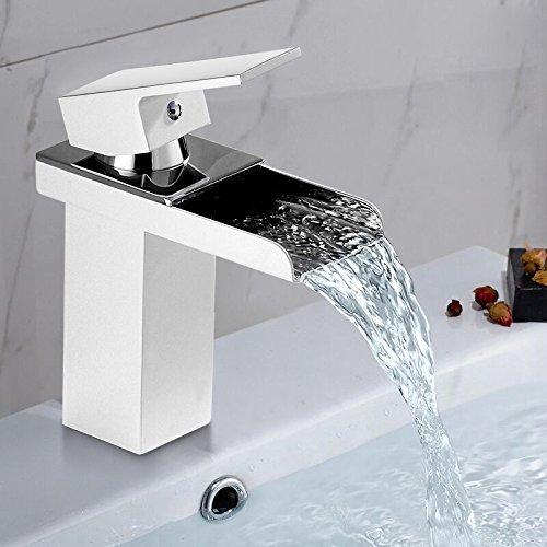 auralum-ottone-bagno-lavello-rubinetti-di-lusso-alla-griglia-bianco-vernice-cascata-miscelatore-mono