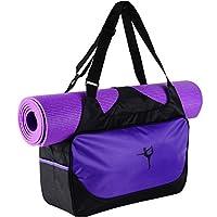 Etopfashion Waterproof Yoga Mat Fitness Bag Backpack Shoulder Bag Adjustable Strap (Bag Only)