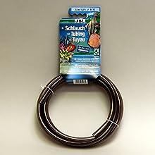 JBL Tube 2.5 m length, 9/12 mm diameter, Grey , Water hose for aquariums