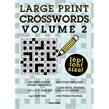 Large Print Crosswords Volume 2