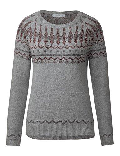 Cecil Damen Pullover Grau (Middle Grey Melange 30733)