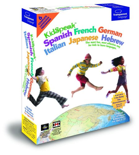 KidSpeak 6 In 1 ( Spanish, French, German, Italian, Japanese, Hebrew ) Test
