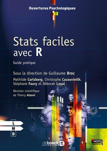 Stats faciles avec R : Guide pratique par Guillaume Broc