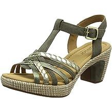 bbbfd2386 Amazon.es  zapatos de medio tacon - Verde
