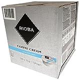 Rioba Coffee Cream, Panna da Caffè 10% di Grassi, Ultrapastorizzato 240 Pezzi da 7.5 g il pezzo, 1.8 kg