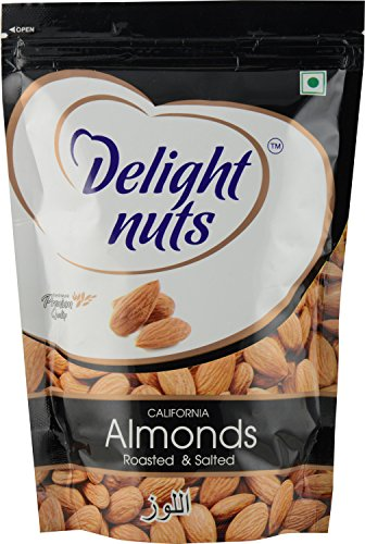 Delight Roasted And Salted Almond, 200g