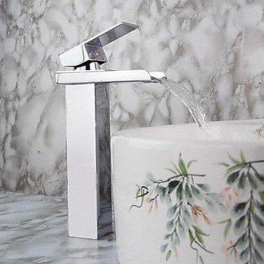 miaoge modernes Single Griff Wasserfall Waschbecken Wasserhahn (chrom Finish) (Danze Bad Wasserhahn)