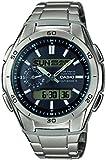 Casio WVA-M650TD-1AER - Reloj de pulsera hombre, Titanio, color Plateado