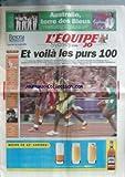 Telecharger Livres EQUIPE L du 23 09 2000 J O SYDNEY M GREENE MARION JONES AUSTRALIE TERRE DES BLEUS (PDF,EPUB,MOBI) gratuits en Francaise