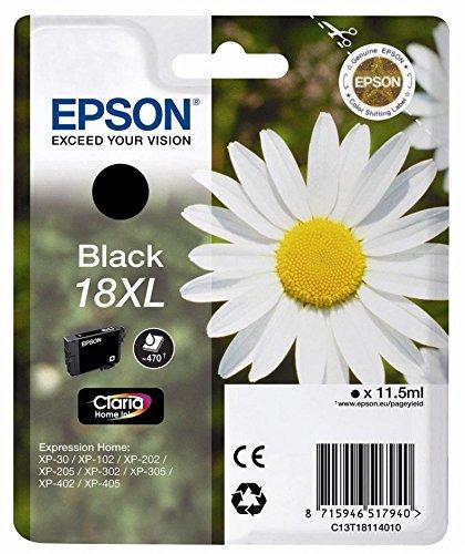 Preisvergleich Produktbild Epson 18Xl Claria Home Ink, Single Pack, schwarz