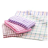 Zolimx Absorbent Wash Cloth Car Kitchen Cleaning Microfiber Cleaning Towels Cloths (A)