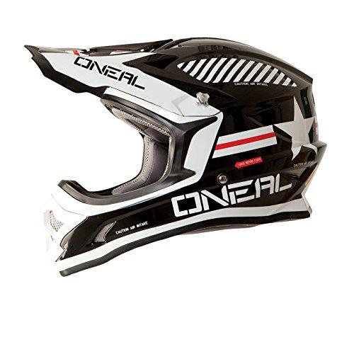 O'Neal 3Series Afterburner MX Helm Schwarz Motocross 312, 0623A-2, Größe X-Large (61-62 cm) (312-serie)