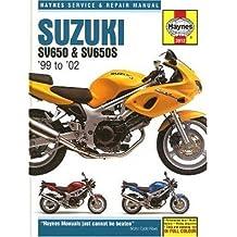 Suzuki SV650 and SV650S Service and Repair Manual: 1999 to 2002 (Haynes Service & Repair Manuals)