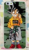 Phone Tattoo Coque Iphone 6 ou 6s DBZ Gokuy Camouflage (Livraison Gratuite en France)