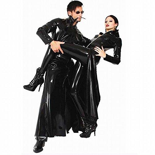jacke, Männliche und Weibliche Neutrale Modelle, Nacht Sänger Ds Performance Kleidung,Schwarz,XL (Männliche Und Weibliche Kostüm)