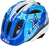 KED Meggy II Helmet Kids Blue Stars Kopfumfang S/M | 49-55cm 2018 Fahrradhelm