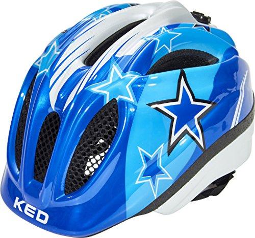 KED Meggy II Helmet Kids Blue Stars Kopfumfang XS | 44-49cm 2018 Fahrradhelm (Kid-bike-helm-auto)