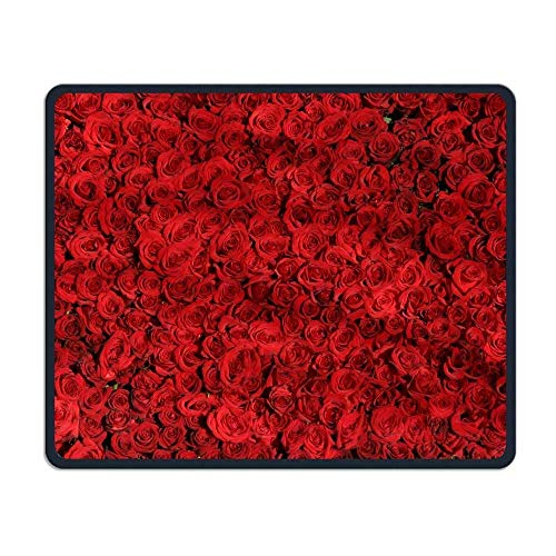 Rose Roses Flowers Comfortable Rectangle Rubber Base Mousepad Gaming Mouse Pad -