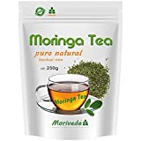 Moringa Tee 100/250/500g Kräuter Mix geschnitten - 1A Geschmack, beste Qualität von MoriVeda (1x250g)