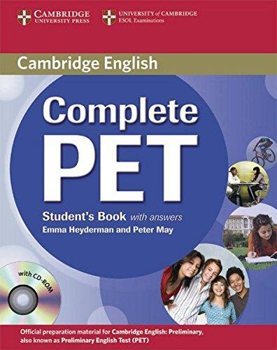 Preisvergleich Produktbild Complete PET: Student's Book with CD-ROM