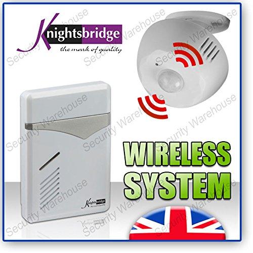 KN13Wireless PIR Motion Sensor Shop Besucher Tür Bell Entry Alert Chime Alarm - Wireless Pir Motion Sensor