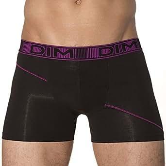 DIM Lot de 2 Boxers 3D Flex Noir - Violet