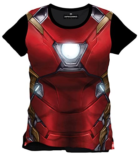 Iron Man Civil War - Costume T-Shirt multicolour (Anzug Man Schwarz Iron)