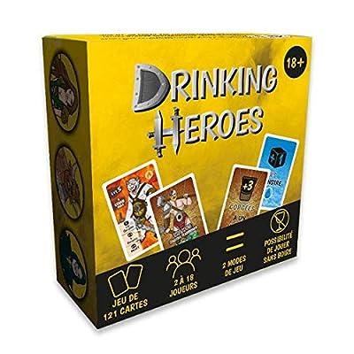 Drinking Heroes (Version Française) : Le Jeu Fantastique à Boire pour des soirées Entre Amis
