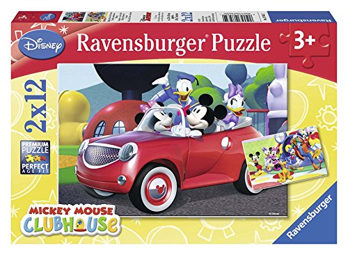 Ravensburger Mickey Mouse Clubhouse - Puzzle, 2 x 12 Piezas 07565 2