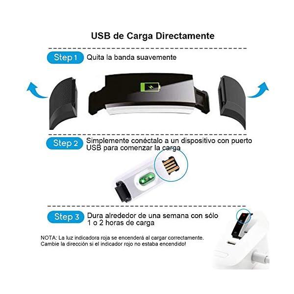 Rayfit Pulsera Actividad Inteligente Reloj Deportivo Impermeable Fitness Tracker Monitor de Ritmo Cardíaco Podómetro… 7