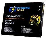 Extremecells® Akku für Huawei Ascend G510 G520 G525 Y210 ersetzt HB4W1 Accu Battery Batterie