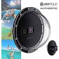 GOPOLE Dome Pro HERO8 Edición – Sobre o Bajo Cúpula para cámaras GoPro Hero 8